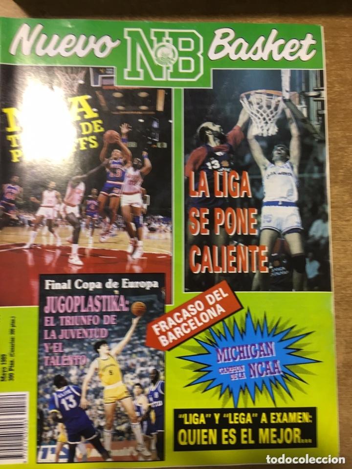 Coleccionismo deportivo: LOTE 14 REVISTAS NUEVO BASKET - 1987 - 1991 - Foto 3 - 172685104