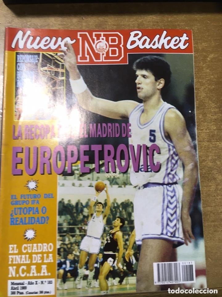 Coleccionismo deportivo: LOTE 14 REVISTAS NUEVO BASKET - 1987 - 1991 - Foto 4 - 172685104