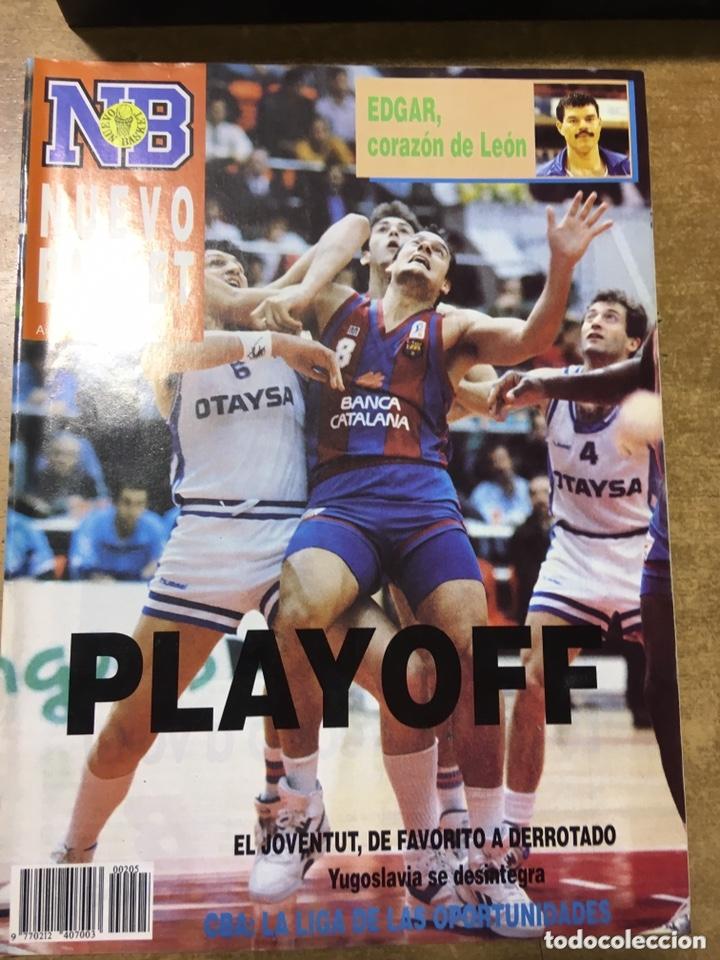 Coleccionismo deportivo: LOTE 14 REVISTAS NUEVO BASKET - 1987 - 1991 - Foto 5 - 172685104
