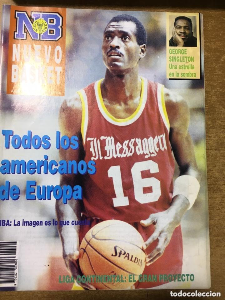 Coleccionismo deportivo: LOTE 14 REVISTAS NUEVO BASKET - 1987 - 1991 - Foto 6 - 172685104