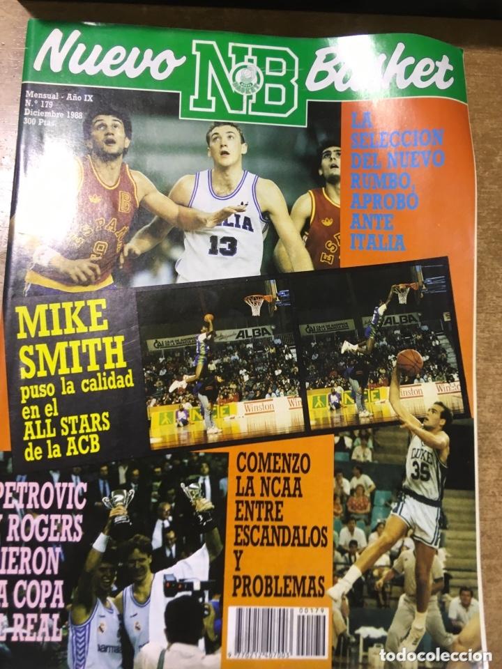 Coleccionismo deportivo: LOTE 14 REVISTAS NUEVO BASKET - 1987 - 1991 - Foto 7 - 172685104