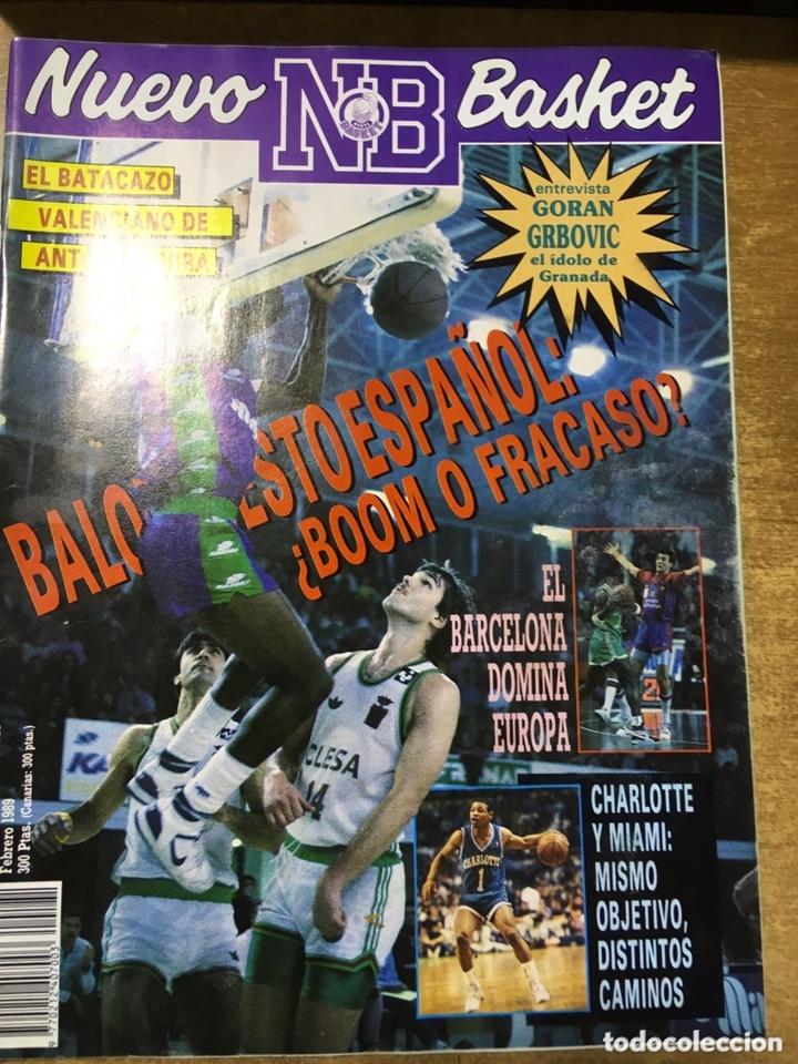 Coleccionismo deportivo: LOTE 14 REVISTAS NUEVO BASKET - 1987 - 1991 - Foto 8 - 172685104