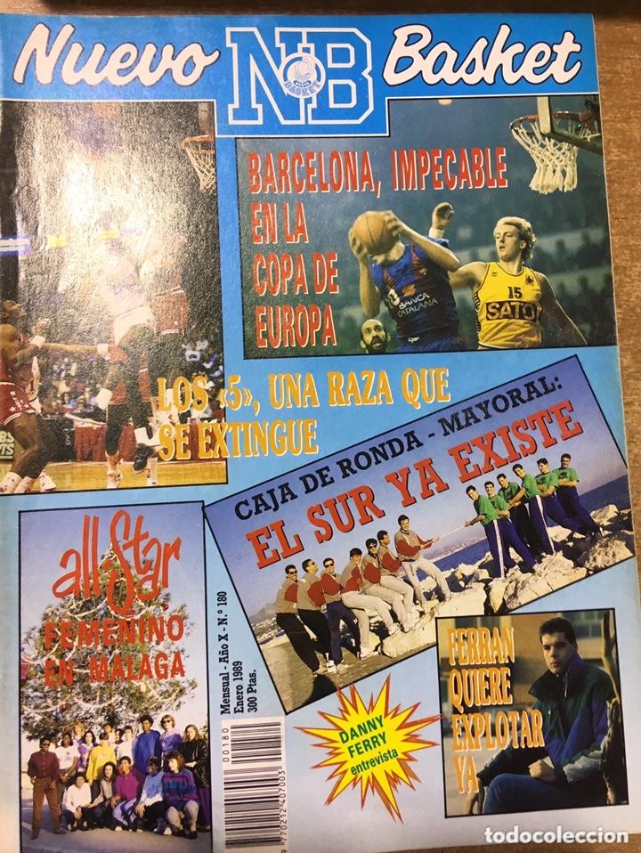 Coleccionismo deportivo: LOTE 14 REVISTAS NUEVO BASKET - 1987 - 1991 - Foto 9 - 172685104