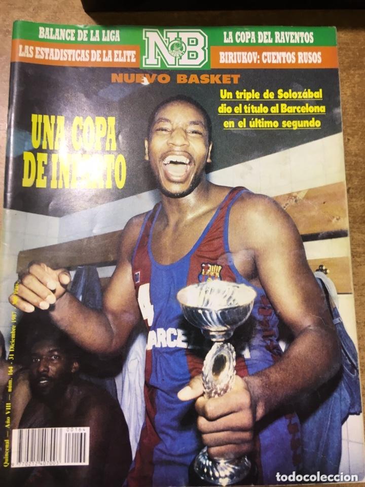 Coleccionismo deportivo: LOTE 14 REVISTAS NUEVO BASKET - 1987 - 1991 - Foto 10 - 172685104