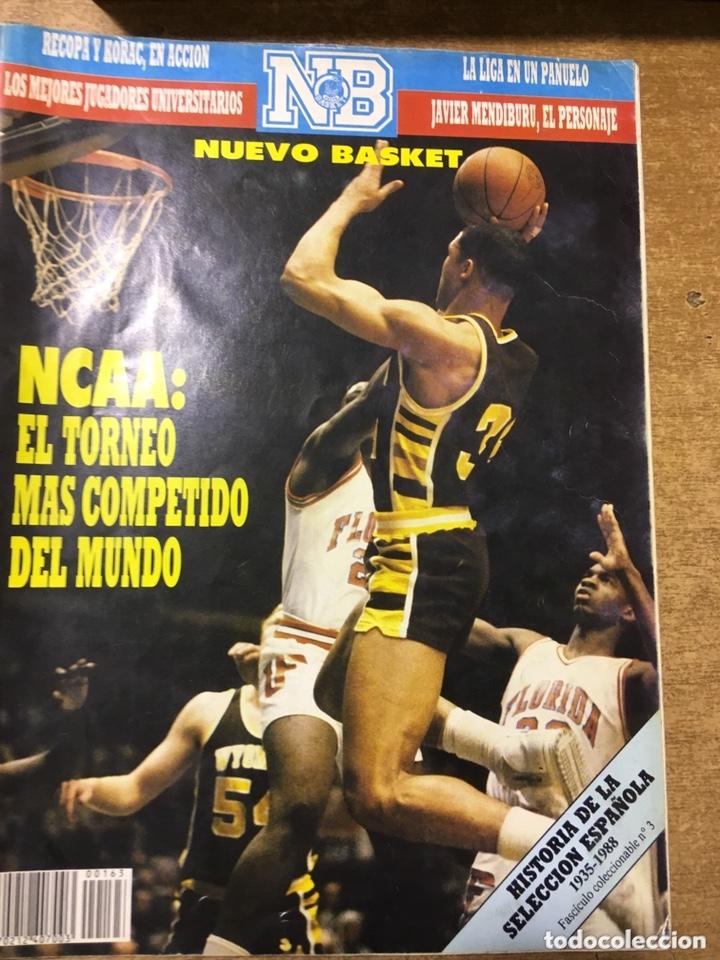 Coleccionismo deportivo: LOTE 14 REVISTAS NUEVO BASKET - 1987 - 1991 - Foto 11 - 172685104