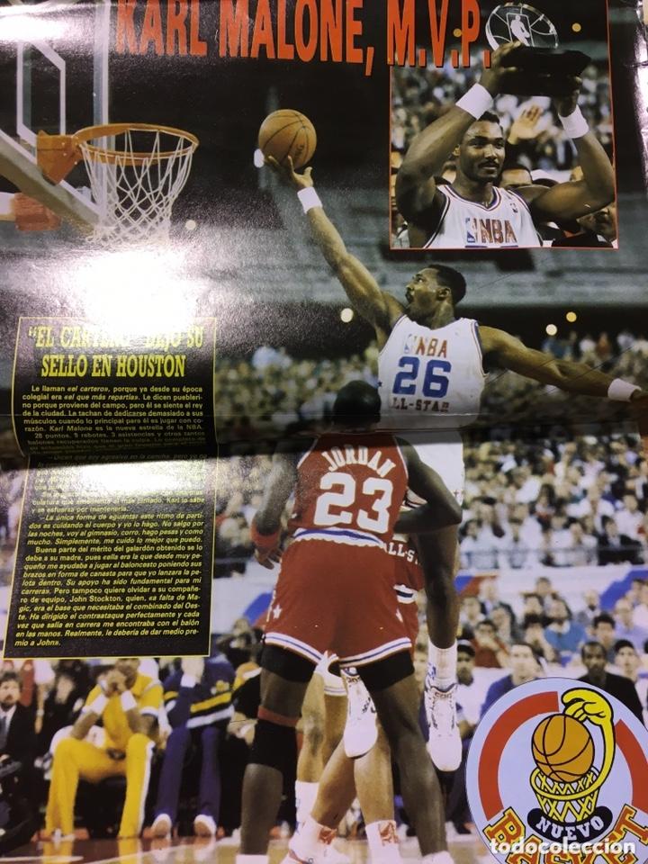 Coleccionismo deportivo: LOTE 14 REVISTAS NUEVO BASKET - 1987 - 1991 - Foto 12 - 172685104