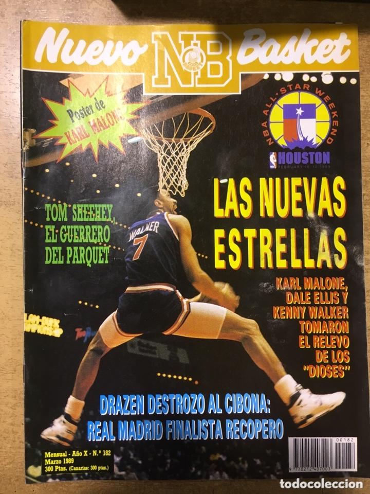 Coleccionismo deportivo: LOTE 14 REVISTAS NUEVO BASKET - 1987 - 1991 - Foto 13 - 172685104