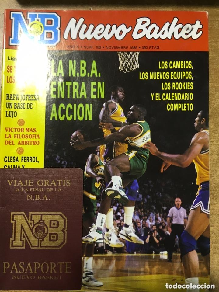 Coleccionismo deportivo: LOTE 14 REVISTAS NUEVO BASKET - 1987 - 1991 - Foto 14 - 172685104