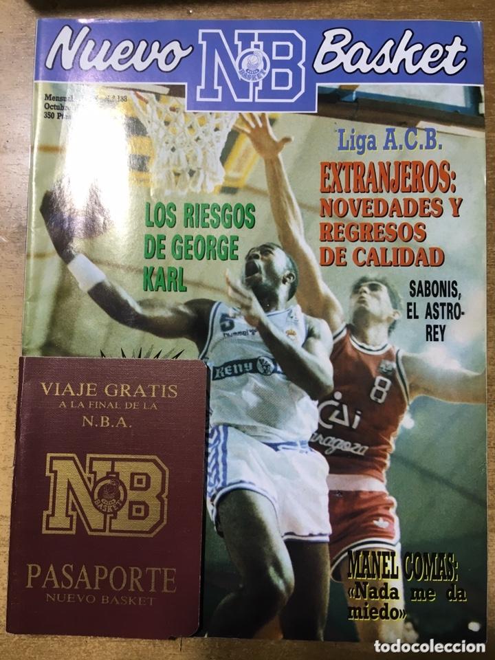 Coleccionismo deportivo: LOTE 14 REVISTAS NUEVO BASKET - 1987 - 1991 - Foto 15 - 172685104