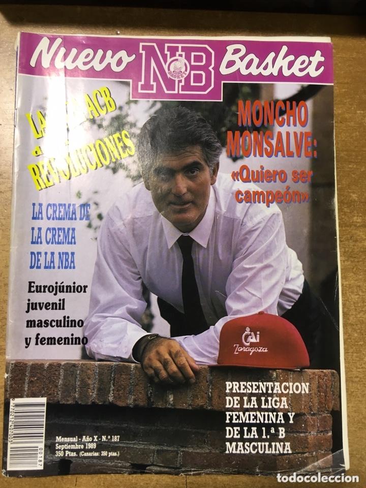 Coleccionismo deportivo: LOTE 14 REVISTAS NUEVO BASKET - 1987 - 1991 - Foto 16 - 172685104