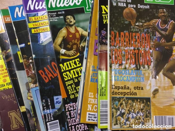 LOTE 14 REVISTAS NUEVO BASKET - 1987 - 1991 (Coleccionismo Deportivo - Revistas y Periódicos - otros Deportes)