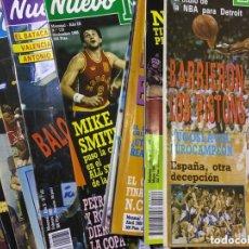 Coleccionismo deportivo: LOTE 14 REVISTAS NUEVO BASKET - 1987 - 1991. Lote 172685104