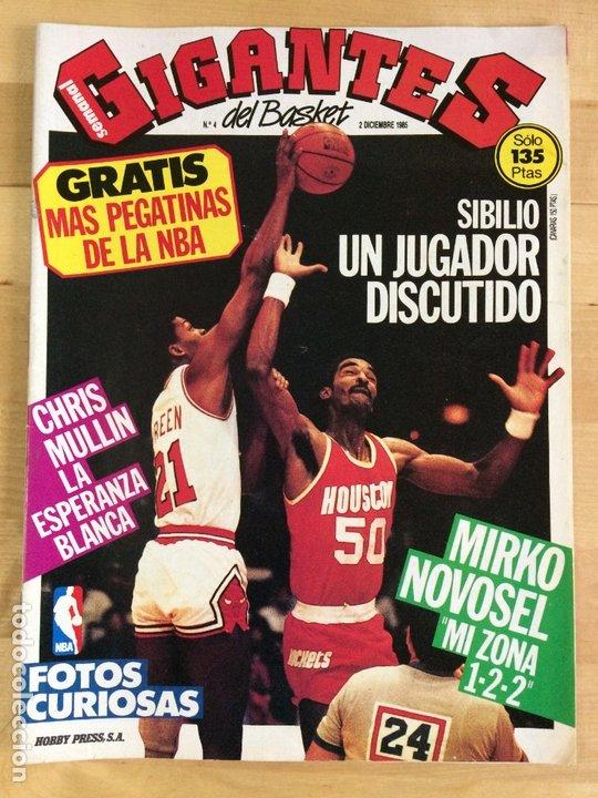 REVISTA BALONCESTO GIGANTES DEL BASKET Nº 4 (Coleccionismo Deportivo - Revistas y Periódicos - otros Deportes)