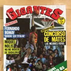 Coleccionismo deportivo: REVISTA BALONCESTO GIGANTES DEL BASKET Nº 10. Lote 173037404