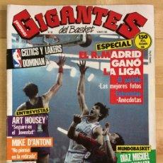 Coleccionismo deportivo: REVISTA BALONCESTO GIGANTES DEL BASKET Nº 28. Lote 173037484