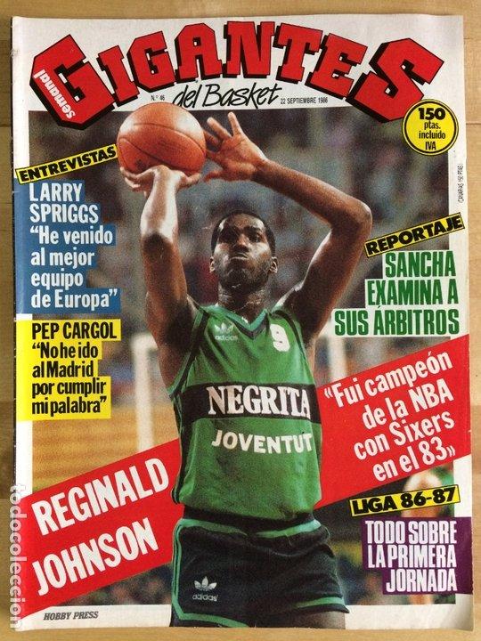 REVISTA BALONCESTO GIGANTES DEL BASKET Nº 46 (Coleccionismo Deportivo - Revistas y Periódicos - otros Deportes)