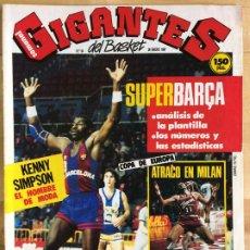 Coleccionismo deportivo: REVISTA BALONCESTO GIGANTES DEL BASKET Nº 64. Lote 173037602