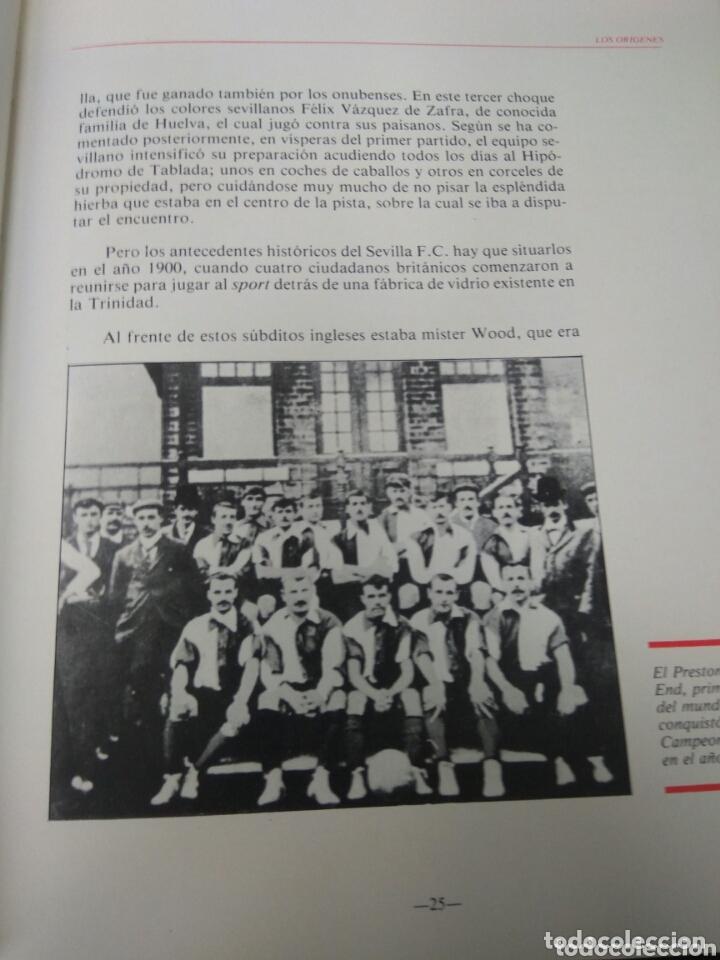 Coleccionismo deportivo: FÚTBOL HISTORIA DEL SEVILLA F.C. 1900-1936 - Foto 3 - 173440819