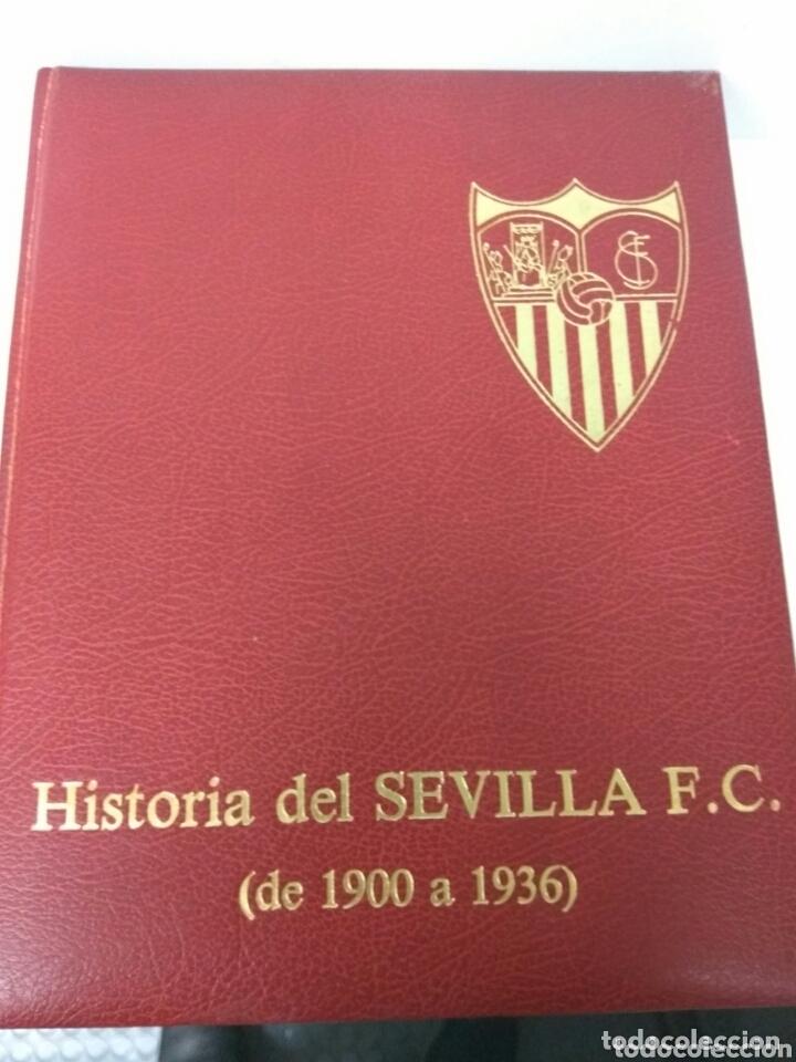 FÚTBOL HISTORIA DEL SEVILLA F.C. 1900-1936 (Coleccionismo Deportivo - Revistas y Periódicos - otros Deportes)