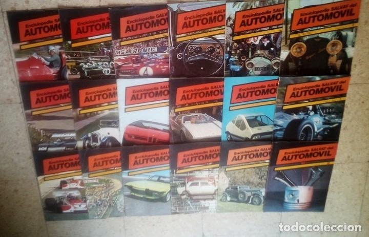 Coleccionismo deportivo: 1974.LOTE 36 REVISTAS : ENCICLOPEDIA DEL AUTOMOVIL,SALVAT.1974.( VER FOTOS) - Foto 2 - 173561575