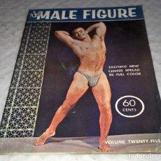 Coleccionismo deportivo: REVISTA VINTAGE THE MALE FIGURE Nº 25 - 1962 - POSADO ARTISTICO MASCULINO MUSCULACION CULTURISTA. Lote 173647695