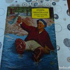 Coleccionismo deportivo: ANUARIO DE LA FEDERACION ESPAÑOLA DE PESCA AÑO 1966. Lote 173876283