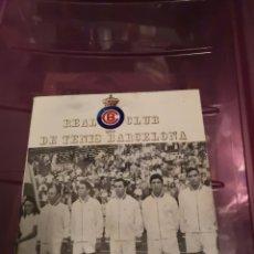 Coleccionismo deportivo: S2. 43. REVISTA DE TENIS. REAL CLUB DE TENIS DE BARCELONA. NÚMERO 39. 1967. Lote 173897988