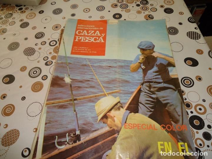 SELECCIONES INTERNACIONALES DE CAZA Y PESCA Nº 0 (Coleccionismo Deportivo - Revistas y Periódicos - otros Deportes)