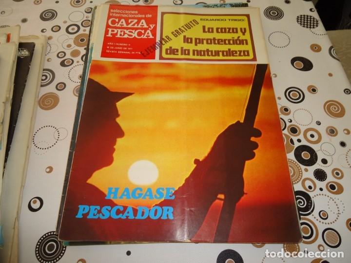 SELECCIONES INTERNACIONALES DE CAZA Y PESCA Nº 11 (Coleccionismo Deportivo - Revistas y Periódicos - otros Deportes)