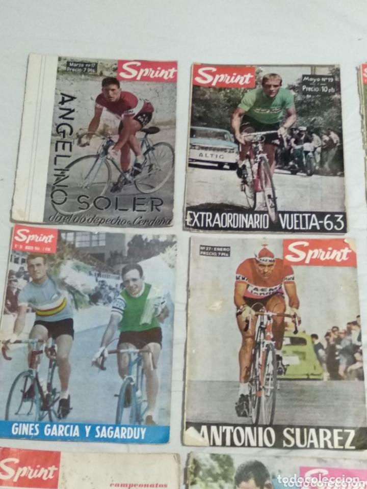 Coleccionismo deportivo: LOTE ANTIGUAS 9 REVISTAS SPRINT AÑOS 64-65 ECT - Foto 2 - 174189609