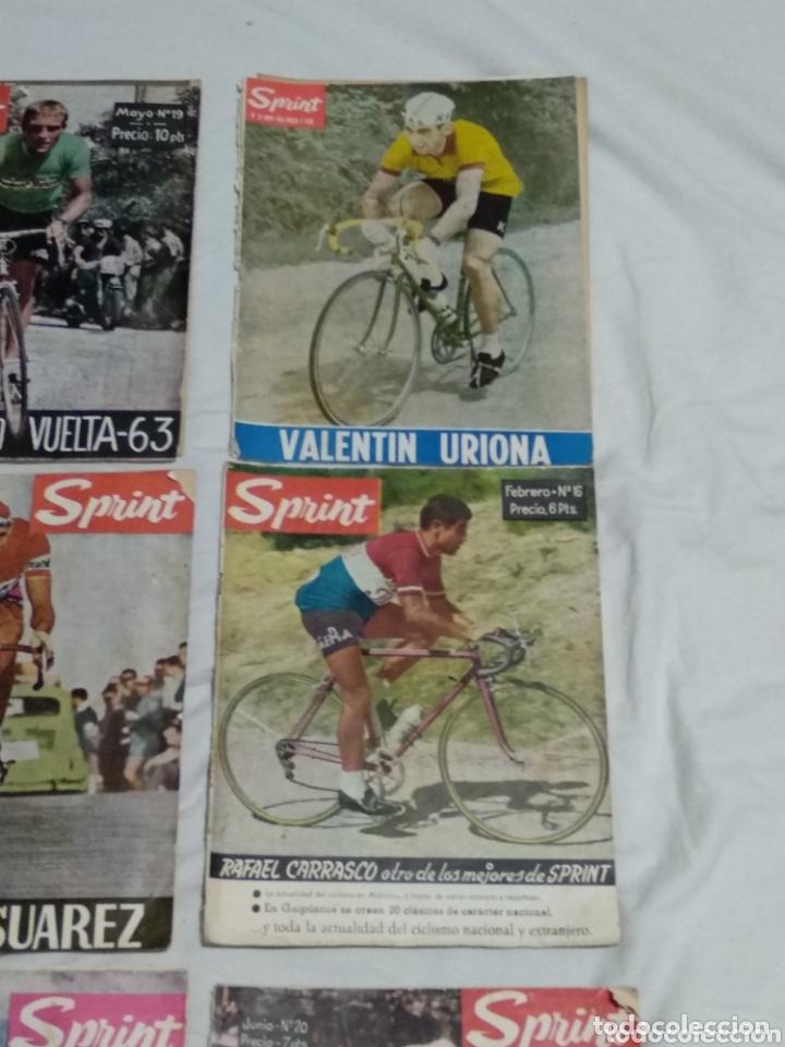 Coleccionismo deportivo: LOTE ANTIGUAS 9 REVISTAS SPRINT AÑOS 64-65 ECT - Foto 3 - 174189609
