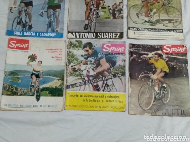 Coleccionismo deportivo: LOTE ANTIGUAS 9 REVISTAS SPRINT AÑOS 64-65 ECT - Foto 4 - 174189609