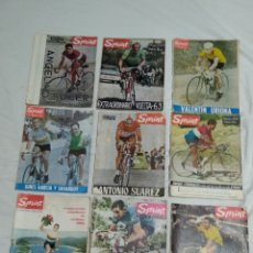 Coleccionismo deportivo: LOTE ANTIGUAS 9 REVISTAS SPRINT AÑOS 64-65 ECT. Lote 174189609
