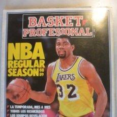 Coleccionismo deportivo: REVISTA BASKET PROFESIONAL AÑO1-Nº 1. MAGIC EL MEJOR. Lote 174306588