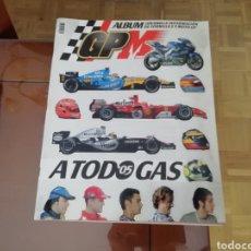 Coleccionismo deportivo: GUÍA MARCA. ÁLBUM FORMULA 1 Y MOTO GP 2003. COMPLETO. Lote 174935720