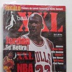 Coleccionismo deportivo: REVISTA XXL BASKET NÚMERO 43 1998 RETIRADA DE MICHAEL JORDAN CHICAGO BULLS NBA. Lote 174993130