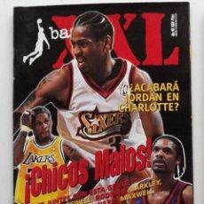 Coleccionismo deportivo: REVISTA XXL BASKET NÚMERO 46 1999 IVERSON CHICOS MALOS MICHAEL JORDAN NBA. Lote 174993522