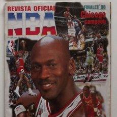 Coleccionismo deportivo: REVISTA NBA NÚMERO 75 CHICAGO CAMPEÓN MICHAEL JORDAN BASKET BALONCESTO. Lote 174998695
