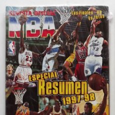 Coleccionismo deportivo: REVISTA NBA NÚMERO 76ESPECIAL RESUMEN 1997-98 BASKET BALONCESTO. Lote 174998697