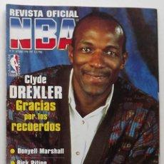 Coleccionismo deportivo: REVISTA NBA NÚMERO 77CLYDE DREXLER BASKET BALONCESTO. Lote 174998703