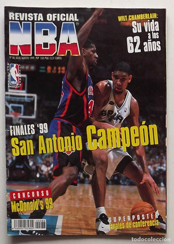 REVISTA NBA NÚMERO 81 HASTA SIEMPRE MICHAELBASKET BALONCESTO (Coleccionismo Deportivo - Revistas y Periódicos - otros Deportes)