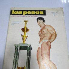 Coleccionismo deportivo: REVISTA CULTURISMO. LAS PESAS. Nº 76. 1970. RARA. ORIGINAL. BUEN ESTADO.. Lote 175012142