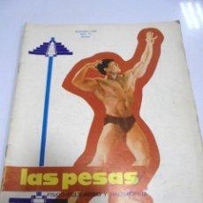 Coleccionismo deportivo: REVISTA CULTURISMO. LAS PESAS. Nº 71. 1969. RARA. ORIGINAL. BUEN ESTADO.. Lote 175012397