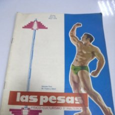 Coleccionismo deportivo: REVISTA CULTURISMO. LAS PESAS. Nº 79. 1970. RARA. ORIGINAL. BUEN ESTADO.. Lote 175012444