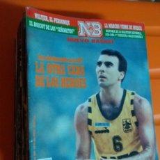 Coleccionismo deportivo: LOTE DE 26 REVISTAS NUEVO BASKET. Lote 175621514