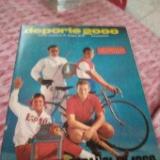 Coleccionismo deportivo: REVISTA :DEPORTE 2000 , DEPORTE ESPAÑOL EN 1969 ,AÑO I ,NÚMERO 12.. Lote 175774925