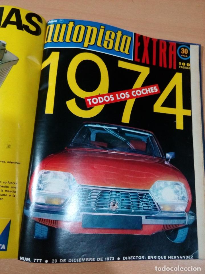 Coleccionismo deportivo: Revista autopista - Lote 18 revistas 1973 encuadernada correlativas - ver fotos - leer - Foto 22 - 175818835