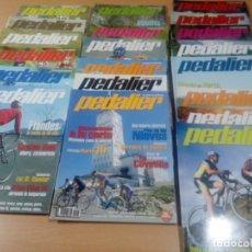 Coleccionismo deportivo: LOTE 20 REVISTAS PEDALEAR CICLOTURISTA AÑOS 2004-2007- VER FOTOS Y NUMEROS. Lote 176281803
