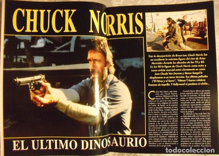 Coleccionismo deportivo: Chuck Norris - Cuatro revistas de artes marciales Dojo - Foto 2 - 176394248