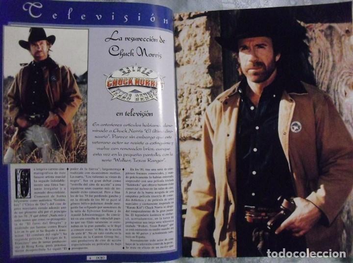 Coleccionismo deportivo: Chuck Norris - Cuatro revistas de artes marciales Dojo - Foto 3 - 176394248